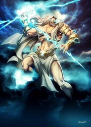 Zeus, Lord of Mt. Olympus