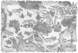 Karte aus dem Servos