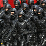Heavy Riot Police