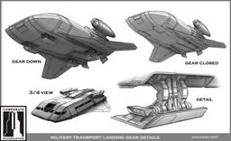 Klingon - Helmsman Shuttle