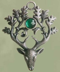 Stag Lord Amulet