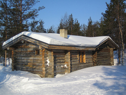 Log Cabin, two story