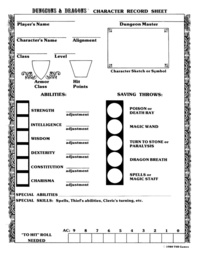 JC's Character Sheet Template