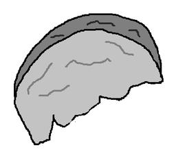 Sharpened Rock