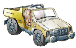 Antelope Jeep