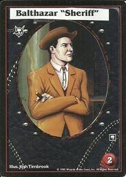 "B. Balthazar ""Sheriff"""