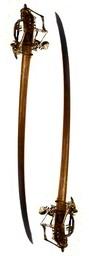 Serrated Dragonfang Basket-Hilted Broadsword