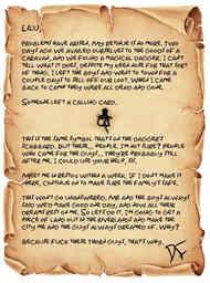 Delrus's Letter