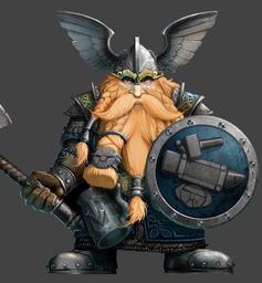 King Einkil I of Clan Ungart