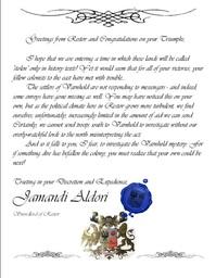 Varnhold Letter