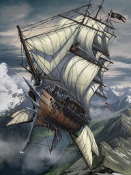 Rising Sun, Skyship