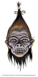 Mysterious Shrunken Head