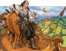 Captain Oloros d'Lyrandar