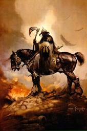 La mort sur un cheval