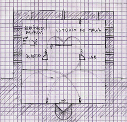 Mapa da Torre, piso 2