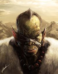 Krayd, berserker mercenary (deceased)