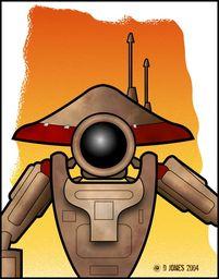 """J-325 """"Jay"""", Pit Droid"""