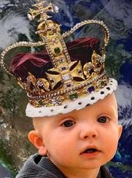 King Samuel Zongo the infant, ruler of Zongo