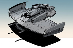 Sith Armored Speeder