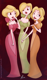 Three pretty wenches