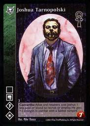 "B. Joshua ""Blackjack"" Tarnopolski"