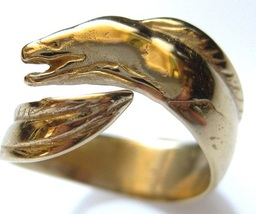 Eel and Frog Ring