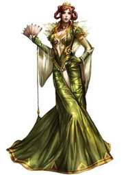 The Birch Queen, eladrin feywild noble