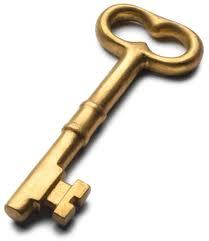 Schlüssel zum Hotel