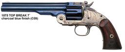 Long Barreled Revolver Six Shot