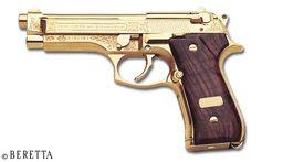 Gold Beretta