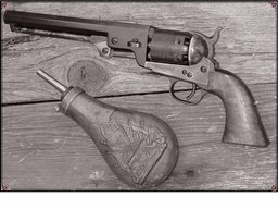 Single Action Cap and Ball Revolver Six Shot