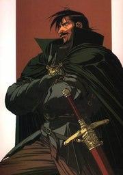 Kashue, Mercenary King of Falconaire