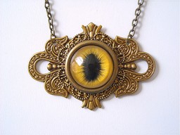 Mictlan Eye Necklace