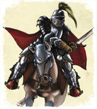 Sir Gasparus, son of Gaspar, knight of the Barrie Grange
