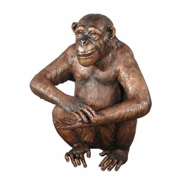 Bronze Monkey Statue