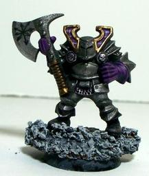 Nephem Goldtongue - Chaos Dwarf Bard of Slaanesh - Matev
