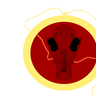 Ruby Amulet of Cerberus