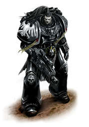 Watch Captain Servais of the Raven Guard