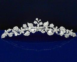 Silvered Vine Tiara
