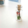 Primitive Doll in a Glass Jar
