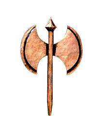 2-headed axe