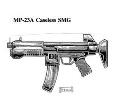 MP-23A Caseless SMG