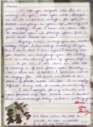 Love Letter from Maurice's Wife