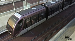 Inner-City Maglev Train