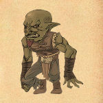 Morrick / Captured goblin blackblade (deceased)