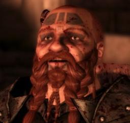 Alerion, Corebit Delzoun (mul 1 warlock)