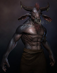 "Asteron ""The Horned Demon"""