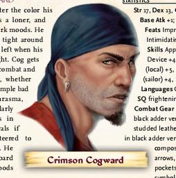 Crimson 'Cog' Cogward