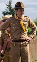 """Robert """"Bob"""" Michek, Scoutmaster Troop 7"""