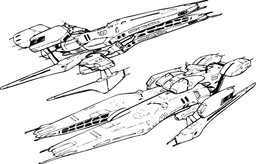 The Micronian Gunships